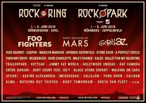 Drei Hammer-Bands: Rock im Park bestätigt erste Acts
